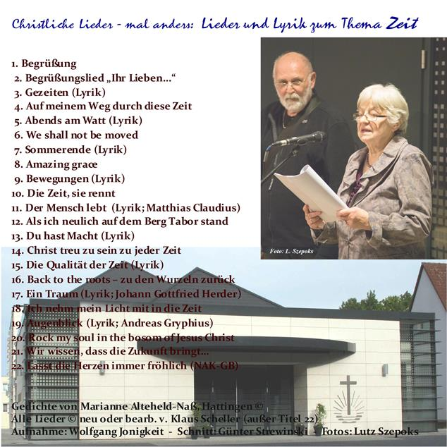 Christliche LIeder Cover